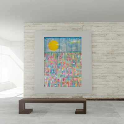 READY FOR SPRING – Large Abstract Painting