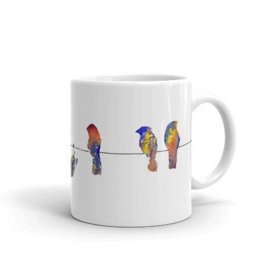 Show Off – Birds on a Wire – Mug